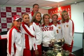 Il team russo di <strong>Fed Cup</strong> non è più nemmeno l'ombra di se stesso.