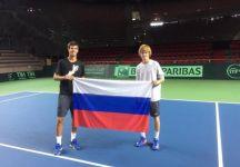 Davis Cup: Il team russo prende confidenza con i campi