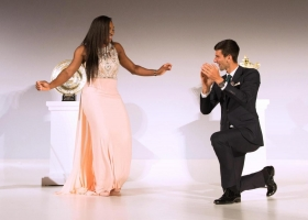 Serena Williams e Novak Djokovic