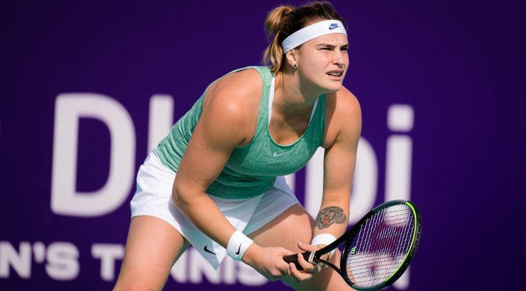 Aryna Sabalenka nella foto