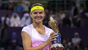 Lucie Safarova classe 1987, n.11 WTA da lunedì