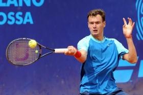 Il 16enne russo Roman Safiullin, testa di serie n.6 del torneo, ha vinto il 55° Trofeo Bonfiglio - Foto Francesco Panunzio