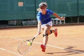 Asia Serafini ha dato all'Italia femminile uno dei due punti nel successo contro il Messico - (foto Alvaro Maffeis).