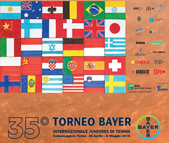 Al via la 35^ edizione Torneo Bayer Internazionale ITF under 18 di Salsomaggiore.