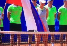"""Liudmila Samsonova: """"Ho lottato per avere il passaporto italiano ma, a questo punto, sono contenta di giocare per la Russia."""""""