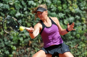 Ludmilla Samsonova, n°9 del seeding, nelle quali di Wimbledon Junior