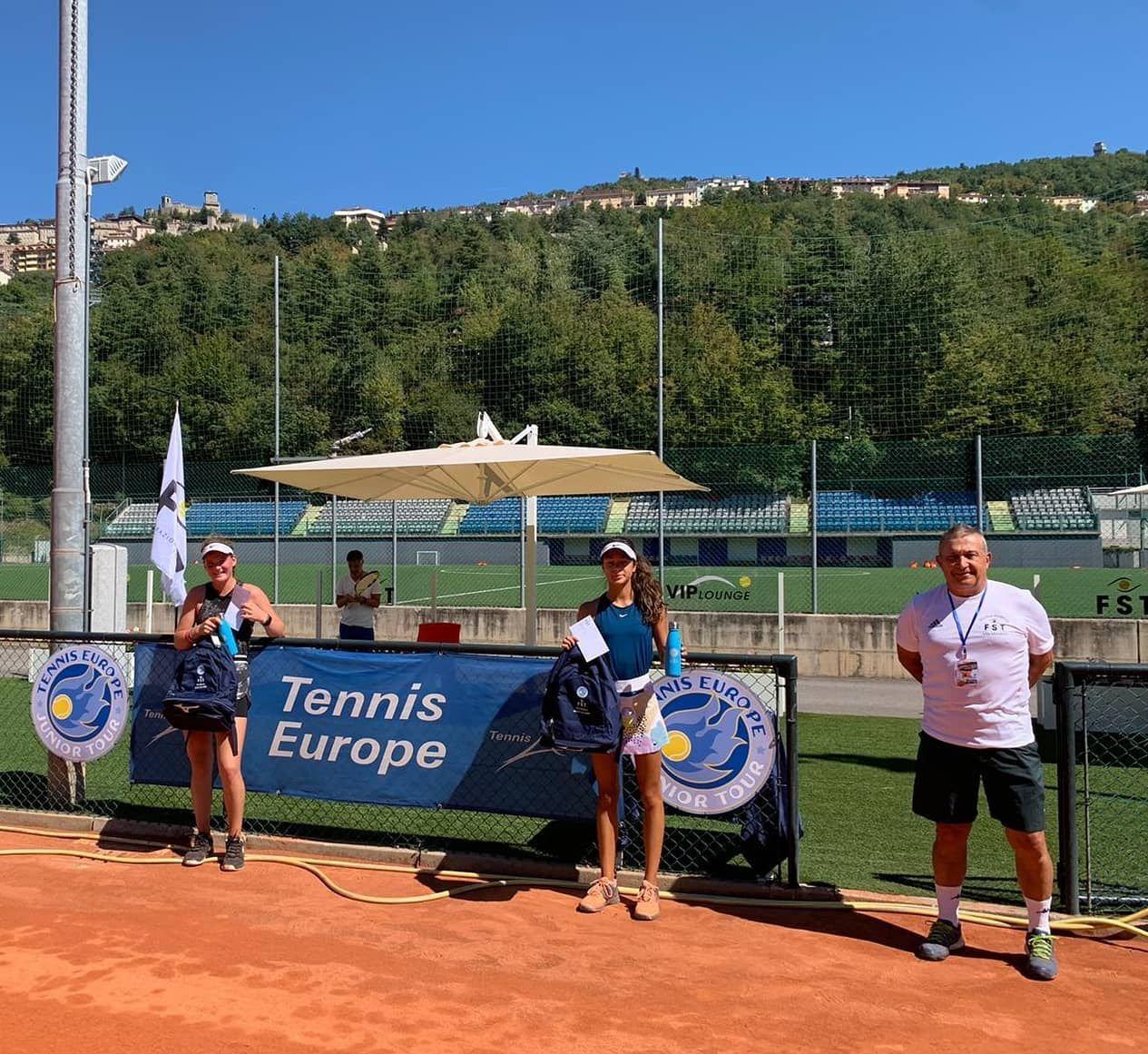 San Marino Junior Cup Under 14: Lettieri vince il titolo femminile, Bonding - Ducruet il doppio maschile