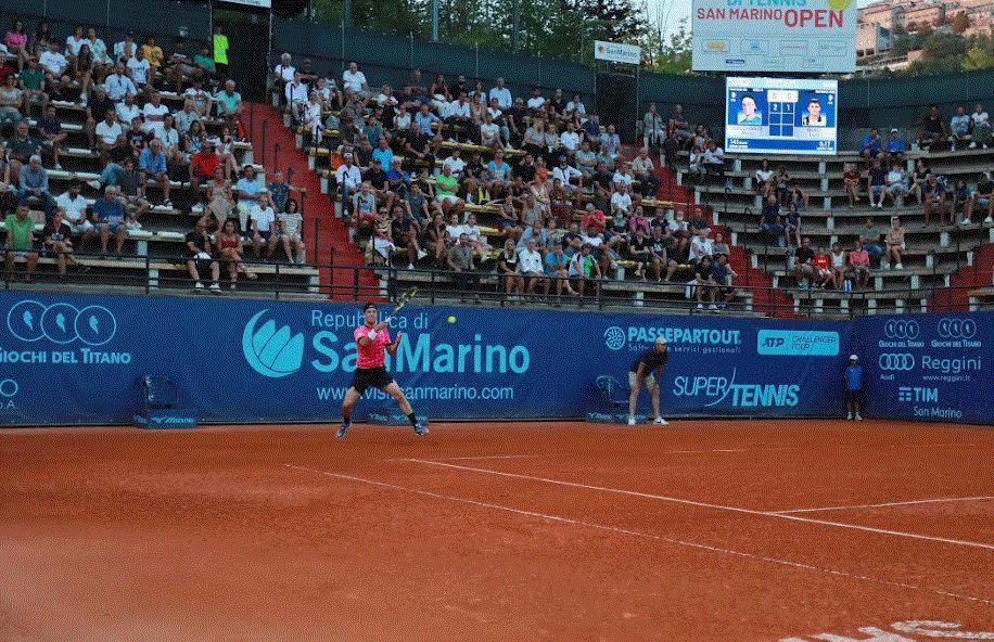Da San Marino: e fasi decisive del torneo su SuperTennix e SuperTennis