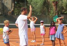 Law Tennis Club Bordighera: Il regalo di Massimo Sartori ai più piccoli