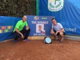 Jan Satral vincente a Roma