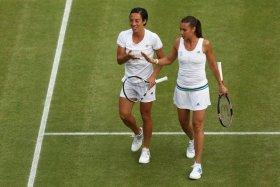 Flavia Pennetta e Francesca Schiavone in semifinale nel doppio a Wimbledon