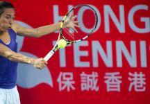 WTA Hong Kong: Francesca Schiavone si ferma in semifinale. L'azzurra nel terzo set era stata avanti anche di un break