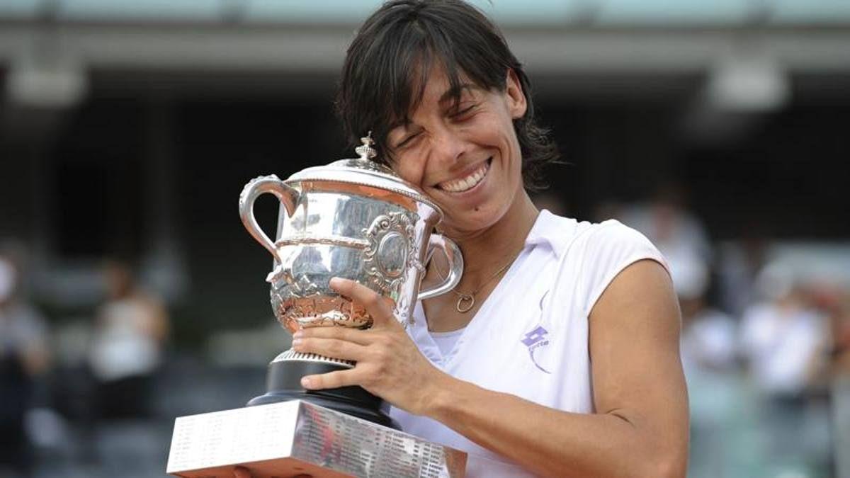 Francesca Schiavone classe 1980 ha vinto il Roland Garros nel 2010