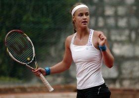 Anna Karolina Schmiedlova in finale a Brescia - Foto Felice Calabrò