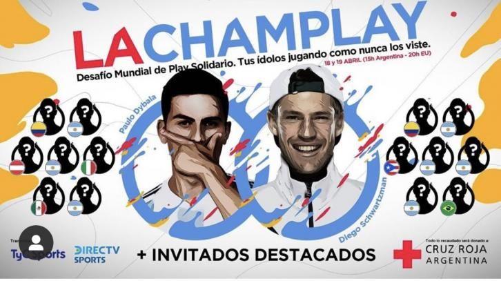 Emergenza Coronavirus: Diego Schwartzman, Paulo Dybala e Dominic Thiem giocano un torneo a FIFA 20 per la raccolta fondi