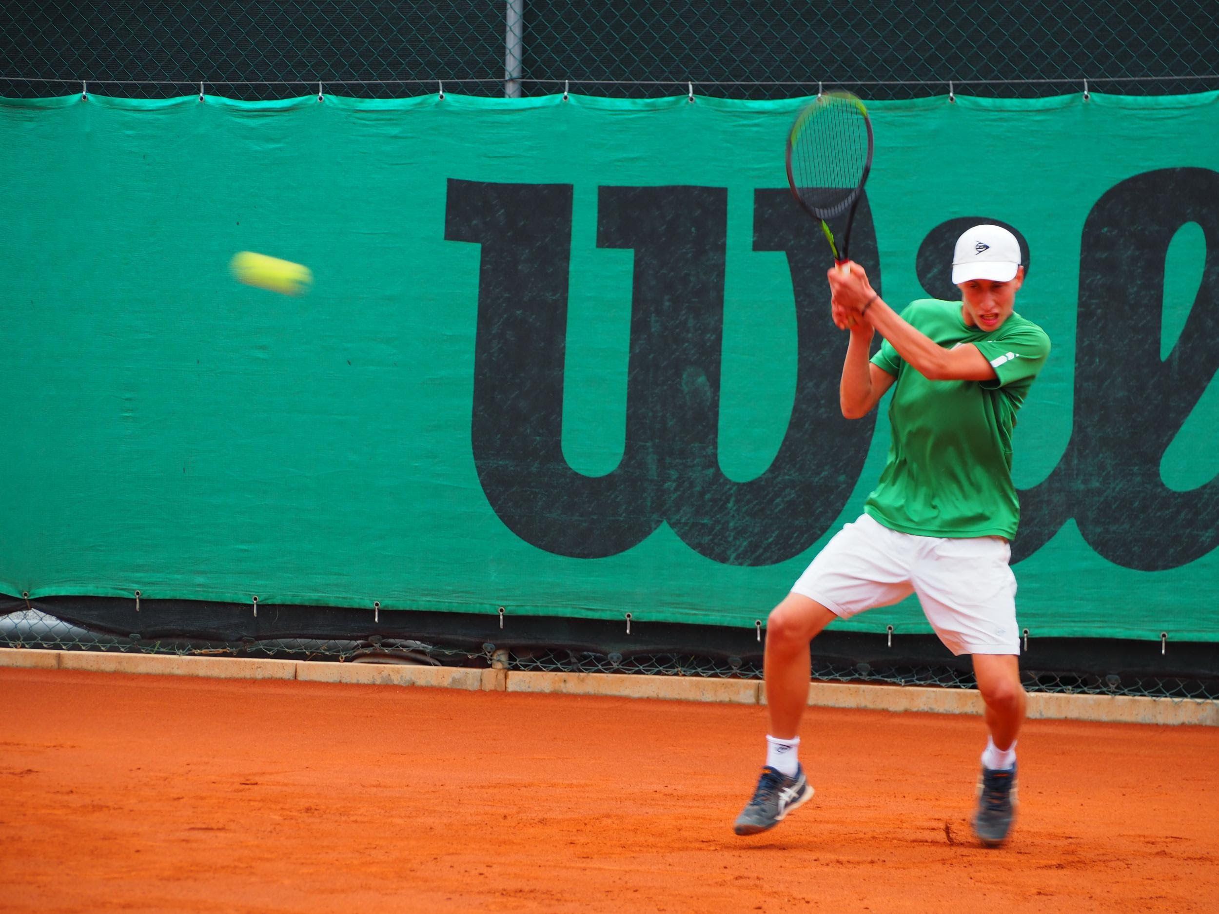 Samuele Seghetti nella foto