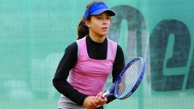 Benedetta Sensi, campionessa italiana under 11 e pronta a disputare l'evento under 12