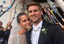 Auguri ad Andreas Seppi e Michela Bernardi che si sono sposati questo pomeriggio ad Ortisei