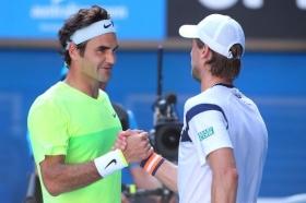 Andreas Seppi e Roger Federer