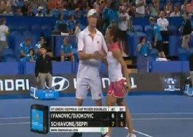 Andreas Seppi e Francesca Schiavone vittoriosi nel doppio