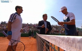 Andreas Seppi e Tommy Robredo nella foto