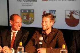 Wolfgang Wanker (Direttore del Torneo) e Andreas Seppi