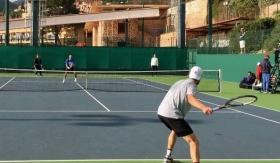 Andreas Seppi si allena con Novak Djokovic a MonteCarlo (Video)