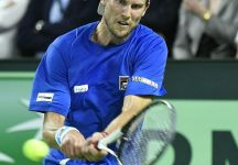 Davis Cup: Belgio vs Italia 2-0. David Goffin vince contro Andreas Seppi e conquista il secondo punto