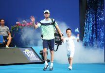 Un affaticato Andreas Seppi esce a Zhuhai contro Bautista Agut