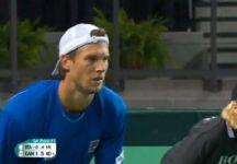 Davis Cup – Quarti di Finale – Canada vs Italia 3-1: Milos Raonic supera Andreas Seppi in quattro set (e con 35 ace messi a segno) e porta per la prima volta nella storia il Canada in semifinale