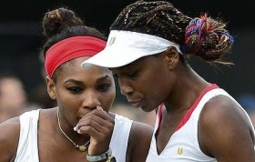 Nella foto Serena e Venus Williams