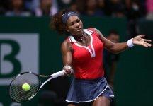 Masters WTA Istanbul: Ancora un Trionfo per Serena Williams che conquista anche il Masters WTA Championships