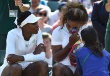 Wimbledon: Doppio. Forfait delle sorelle Williams