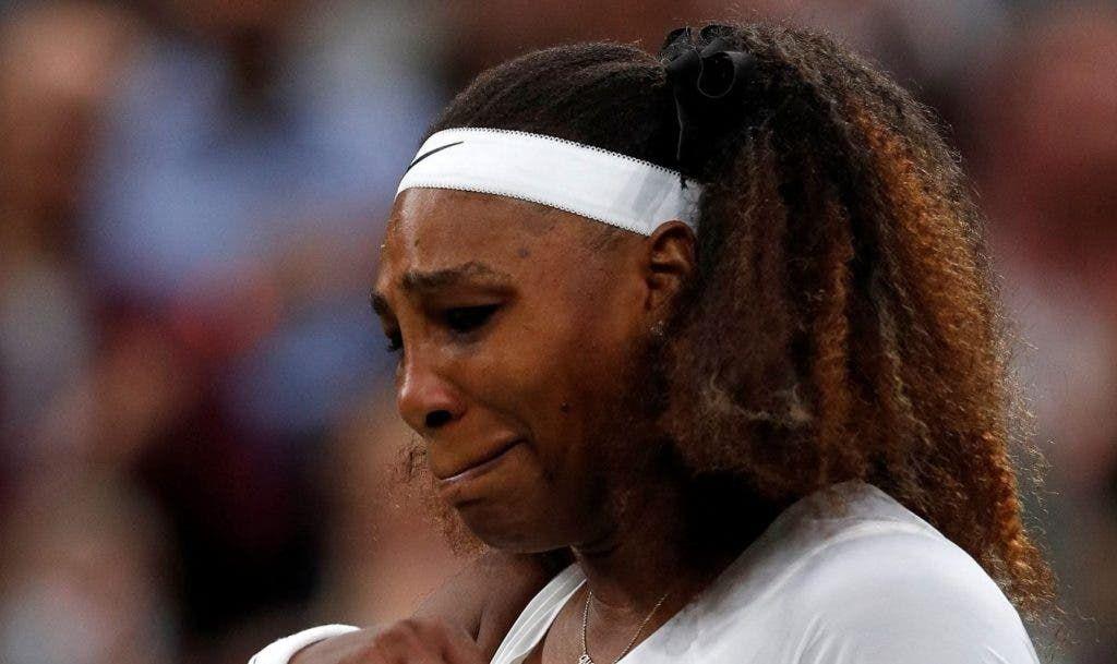Serena Williams nella foto