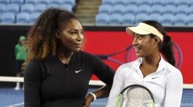 Destanee Aiava conosce Serena Williams