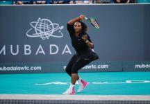 Serena Williams ritorna in campo ad Abu Dhabi. Perde solo al supertiebreak contro Jelena Ostapenko (con il video della partita)
