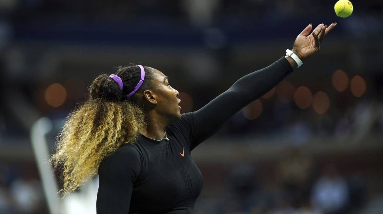 Serena Williams nella foto