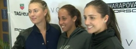 "Maria Sharapova batte Madison Keys nel suo ""Maria Sharapova & Friends"" (Video)"
