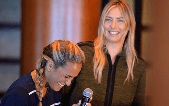 Maria Sharapova e Monica Puig