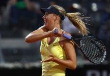 WTA Roma: Maria Sharapova elimina Caroline Wozniacki e domani troverà di fronte Samantha Stosur in finale
