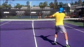 Maria Sharapova e Tommy Haas si allenano in Florida