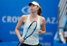 WTA Auckland e Shenzhen: I risultati con il Live dettagliato dei Quarti di Finale. Nessun problema per Maria Sharapova. Ad Auckland vince la pioggia, tutto rimandato a domani (Video)
