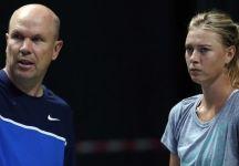 """Maria Sharapova ritorna con il suo """"vecchio"""" """"nuovo"""" allenatore"""