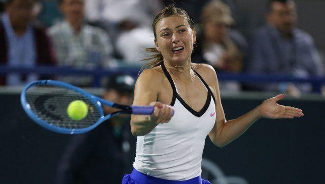 Maria Sharapova nella foto