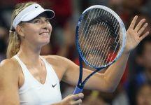 WTA Beijing: 33 esimo successo in carriera per Maria Sharapova. Da domani sarà al n.2 del mondo