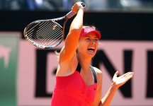 WTA Roma: Maria Sharapova annulla un match point e batte la Na Li. Secondo successo consecutivo per la russa nel torneo romano