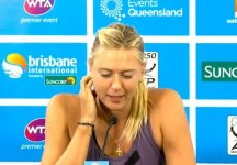 Maria Sharapova dà forfait a Brisbane (VIDEO)