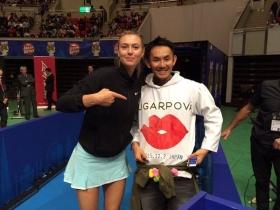 Maria Sharapova a Kobe nell'IPTL