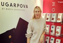 Maria Sharapova entrerà dal prossimo 4 maggio nel mondo dei cioccolatini