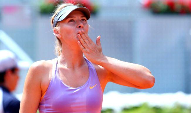 Maria Sharapova ha la Wild Card per gli Internazionali di Roma